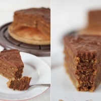 Веган торта Гараш / Vegan Garache cake
